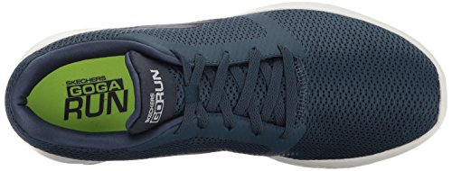 Skechers Go Run 600-Refine, Scarpe Sportive Indoor Uomo Blu (Navy)