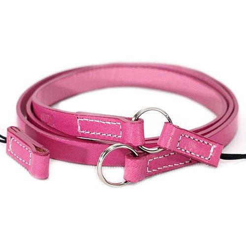 Ciesta DSLR RF fotocamera Mirrorless collo in pelle tracolla ARCO due vie di colore rosa caldo