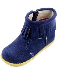 2b244d212 Amazon.es  botas de flecos nina - Incluir no disponibles  Zapatos y ...