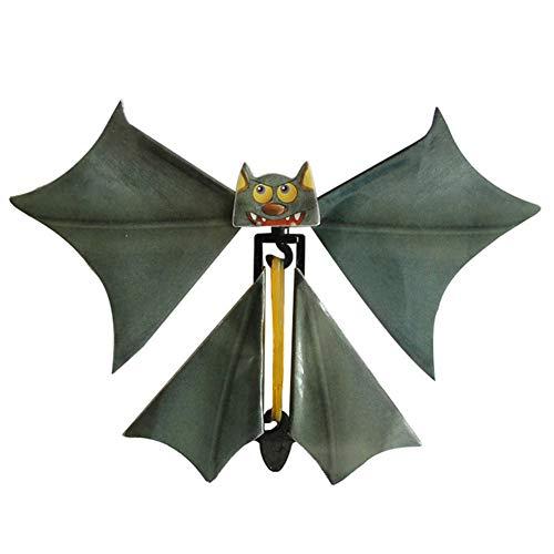 TrifyCore Magie Fliegen Bat Flutter-Karte Prank Fliegen Papier Fledermäuse Lustige Halloween-Karten-Geschenk Bat Props für Kinder