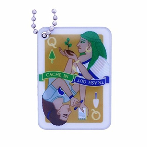 GEO-VERSAND 2016 Cache in Trash Out Trackable Tag, mehrfarbig, 10562 -
