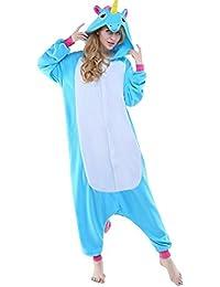 Combinaison Pyjama Licorne Unisexe Costume Cosplay Déguisement Grenouillère Animal- Très Chic Mailanda