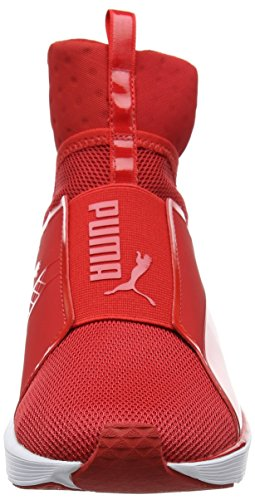 Puma Fierce Core, Scarpe Sportive Indoor Donna Rosso (High Risk Red-puma White 04)