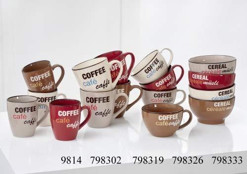 Ritzenhoff & Breker Kaffe-Serie Coffee Talk Größe 4er Set Cafe au Lait Tasse 500 ml Coffee Talk Au Lait-set