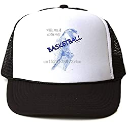 AAMOUSE Gorra de Beisbol Sombrero de Malla de Malla de Malla Deportiva de Malla para Deportes de Baloncesto Botas de sombrilla para Deportes
