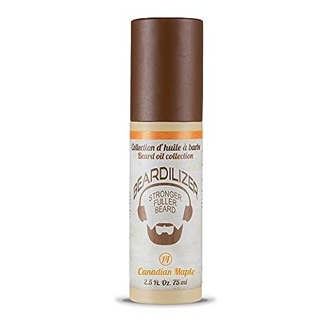 Beardilizer® Huile pour Barbe – Parfum Canadian Maple – 75 ml
