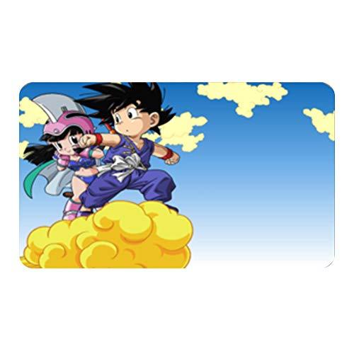 JINYIJUN Gaming-Mauspad, Anime-Mauspad, Drachenball-Mauspad, groß, 800 x 300 x 3 mm Verriegelungskante, 11, 800 * 300 * 3mm