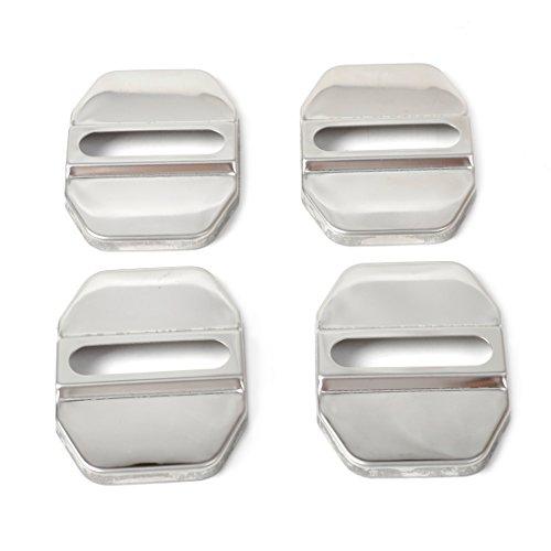 Preisvergleich Produktbild 4 Stück Auto Türstopper Deckel Verschluss Gürtelschnalle Schutzfolie