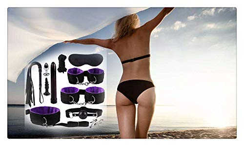 Z-one 1 11 Cosplay-Set, Leder, multifunktional, Schwarz/Violett