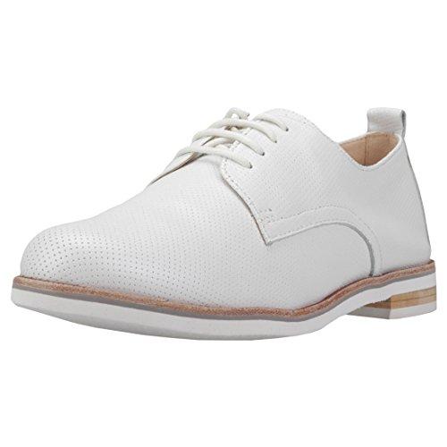 Caprice Schuhe Echtleder-Halbschuhe Damen Schnürschuhe Weiß, Größenauswahl:38
