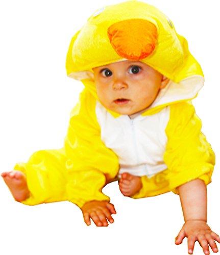 Imagen de fun play disfraz animal pato / patito para niño animal onesie pato / patito para niños 3 5 años talla m
