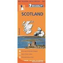 Mapa Regional Scotland (ESCOCIA) (Carte regionali)