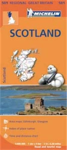 Scotland - Michelin Regional Map 501 par MICHELIN
