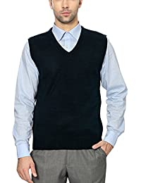 Peter England Men's Regular Fit Sweater_ PSW100314_M_ Navy