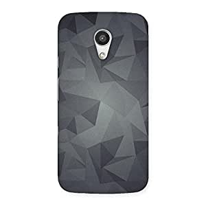 Neo World Shimmer Triangles Back Case Cover for Moto G 2nd Gen