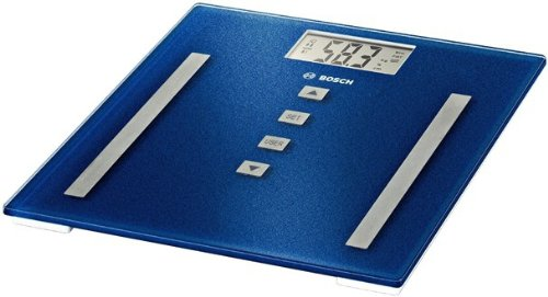 Bosch PPW3320 Personenwaage elektronisch SlimLine Analysis light / deep blue-metallic