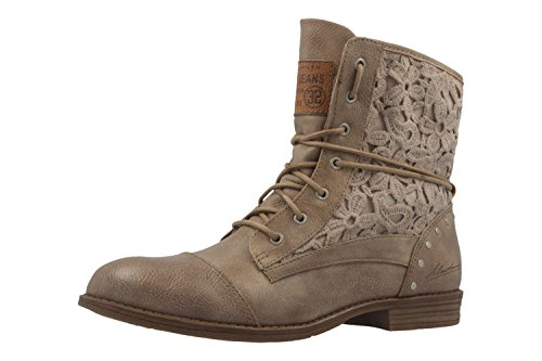 Mustang 1157-527-318, Bottes Classiques Femme Taupe