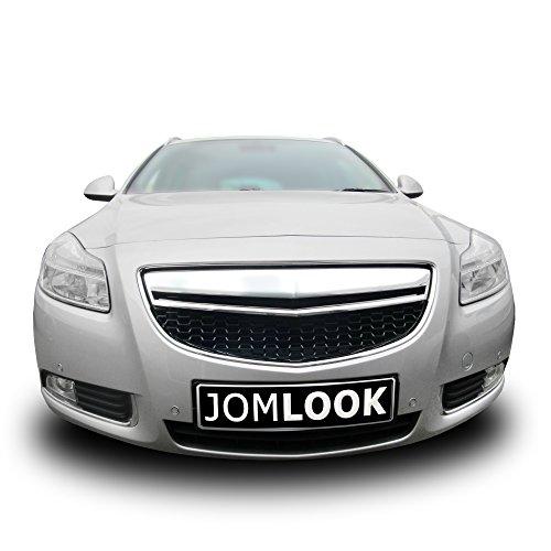 JOM 6320035COE Calandre, Opel Insignia 08-, Noire et Chrome, Look Sport