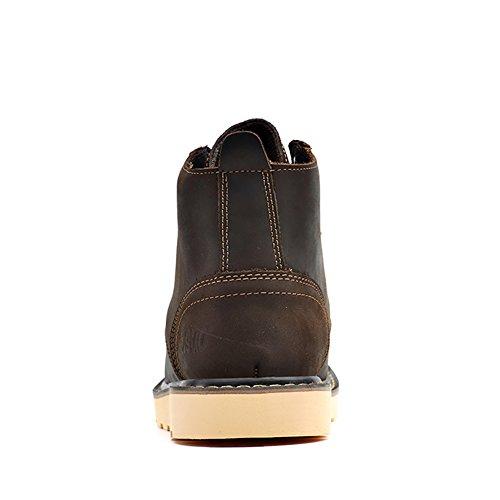 Insun Stiefel Bootsschuhe Derby Schnürhalbschuhe Kurzschaft