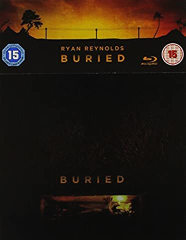 Buried Steelbook Blu-ray - Lebendig begraben Zavvi Exclusive Limited Edition Steelbook (UK Import ohne dt. Ton) Blu-ray