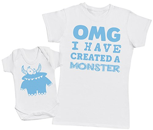 OMG I've Created A Azul Monster! - Regalo para Madres y bebés en un B