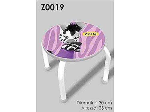 Cebra Zou taburete z0019