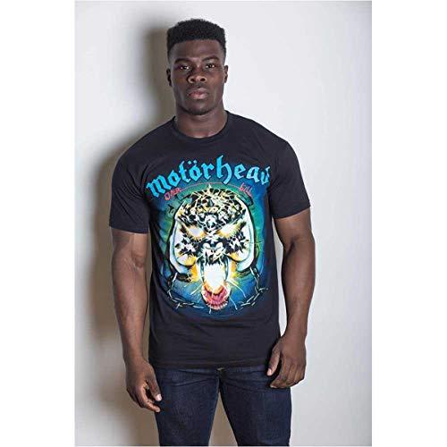 Motorhead Overkill Camiseta, Negro (Schwarz-Schwarz), Medium para...