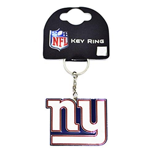 New York Giants NFL Metallschlüsselring (New York Giants Ring)