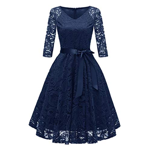 Tireless Delcoce Vintage Floral Skirts With Pockets For Women Pleated Skirts A-line Green Clothing, Shoes & Accessories