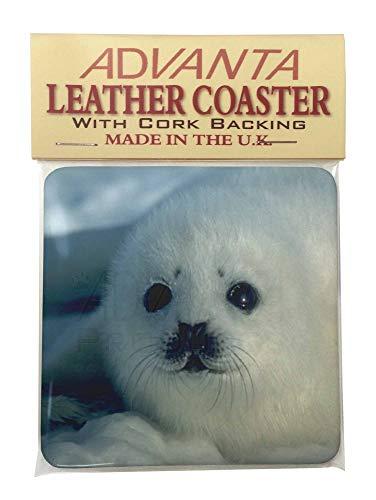 Snow White Sea Lion Single Coaster Weihnachtsstrumpf-Füller Geschenk -