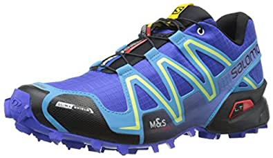 Salomon Women Speedcross 3 CS Trail Running Shoes, Blue (Cobalt/Blue Line/Black), 6 UK 39 1/3 EU