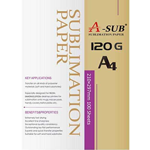 A-SUB - Papel de sublimación A4