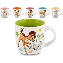 Home Disney Bambi, Tazzone Mug in Ceramica, Confezione 1 Pezzo, Decoro Assortito