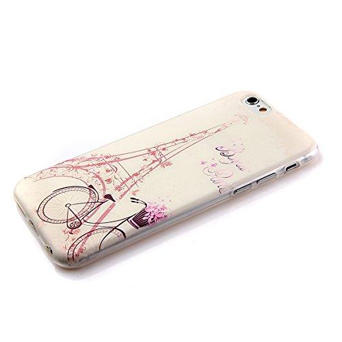 Etche Boîtier en caoutchouc pour iPhone 5C,Cas de TPU pour iPhone 5C,Coque pour iPhone 5C,Colorful série Imprimé Housse de la peau de pare-chocs TPU Soft en caoutchouc de silicone pour iPhone 5C Gratu TPU #14