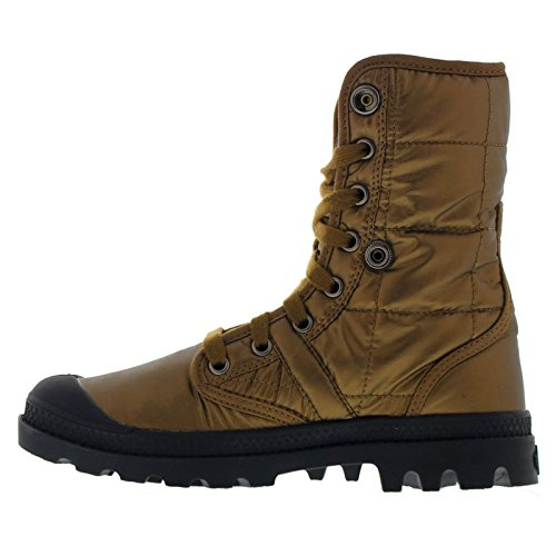 Palladium Womens Pallabrouse Baggy Explorer Textile Boots gold