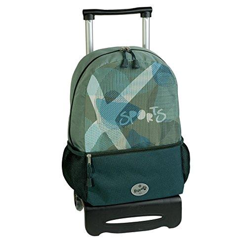 mochila escolar carro ruedas X-SPORT by BUSQUETS