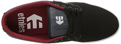 Etnies JAMESON 2 ECO Herren Sneakers Schwarz (Black/Charcoal/Red)