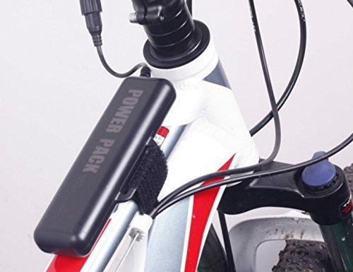 MIANBAOSHU Akkus-Pack/Wasserdicht Batterie-Set 10400mAh 8,4V Waterproof Battery-Pack Anwendbare Produkte,LED/T6/Cree Fahrradlichter, Kopflampe,Outdoor-Notbeleuchtung,Angeln Lichter,Sicherheits-Alarm - Cree Pack Für Licht Fahrrad Akku