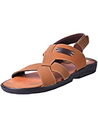Andrew Scott Men's Tan Sandal
