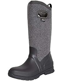 adf25ac3d5 BOGS Damen Dirndl-Schuhe gefütterter Herbst/Winter Stiefel in Grau Trachten- Schuhe