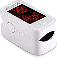 Fingertip Pulse Oximeter, Fingertip Blood Oxygen Blood Oxygen Saturation Heart Rate Monitor with OLED Screen D