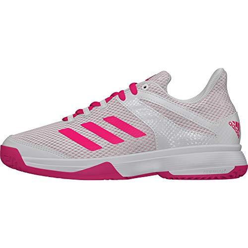 adidas Unisex-Kinder Adizero Club Tennisschuhe, Weiß (Blanco 000), 36 2/3 EU (Tennis-schuhe Kinder)