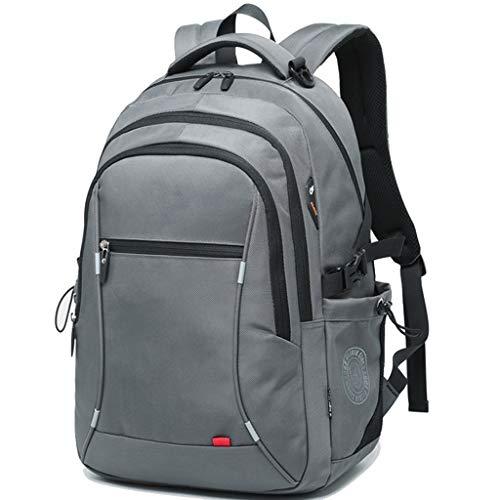 LYM-bag Anti - Diebstahl Rucksack, modische Trend Business Casual Wasserdichte Reise Student Computer Tasche grau