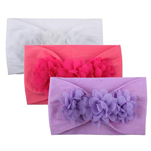 Alwayswin Kleinkind Baby Mädchen Stirnband Mode Wild Kopfband Turban Solide Süß Haarband Headwear Blumenzubehör Kopfbedeckungen