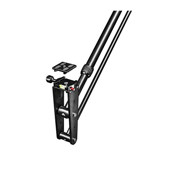 Walimex-Pro-Video-Kamerakran-Director-Pro-inkl-Gegengewicht-Lnge-max-200cm-Gewicht-17kg-Belastbarkeit-ca-3kg