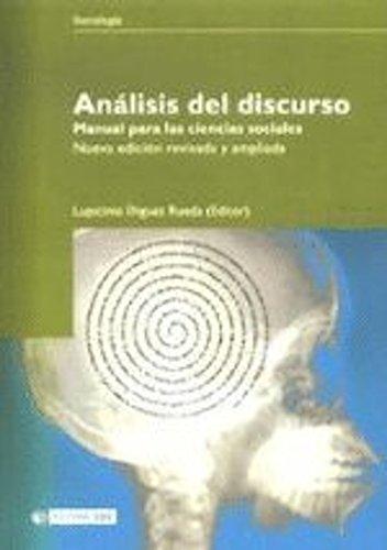 Análisis del discurso. Manual para las ciencias sociales (Manuales nº 74)