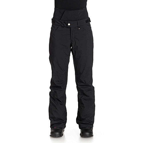 Roxy Ladies Refined Water Resistant Ski Snowboard Pants Black (Shell Roxy Hose)
