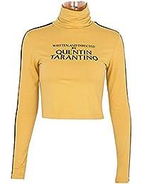 2d6b81dace50 SuperCimi Frauen Sommer T-Shirts Geschrieben und Regie von Quentin  Tarantino Kurzarm T-Shirts