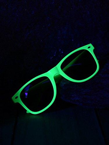 Schwarzlicht Brille Classic Party Neon Grün