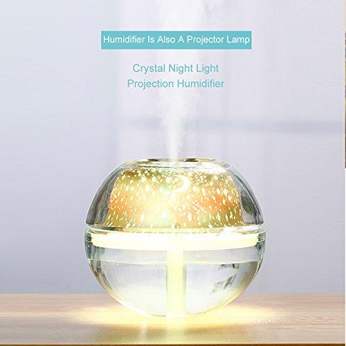 Baianf Humidificadores LED 500 ml Difusor Aroma Difusor